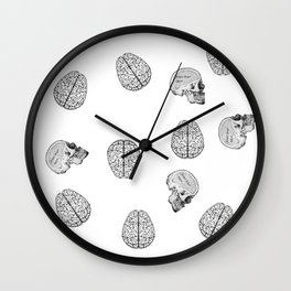 my poor brain- ffs  Wall Clock