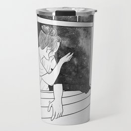 The window of memories. Travel Mug