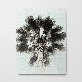 Palm Sketch Metal Print