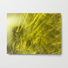 Laser Lights Metal Print
