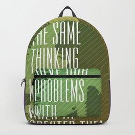 Einstein – Genius Quotes Backpack