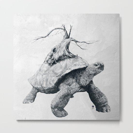 Tortoise Tree Metal Print