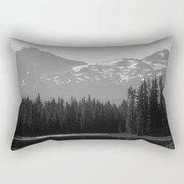 Lake Mist Rectangular Pillow