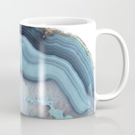 Light Blue Agate Coffee Mug