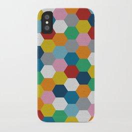 Honeycomb 3 iPhone Case