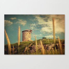 Windmill 14:48 Canvas Print