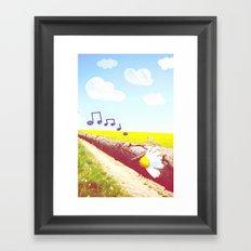 Sunshine & Melody Framed Art Print