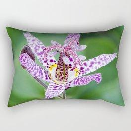 Toad Lily Rectangular Pillow