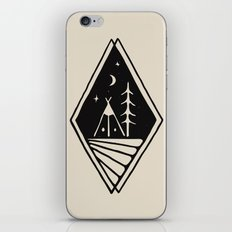Night Camp iPhone & iPod Skin