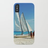 cuba iPhone & iPod Cases featuring Cuba Beach by Parrish