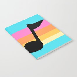 Mabel Music Note Notebook