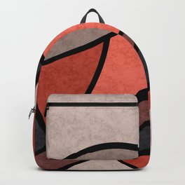 Full moon , abstract Backpack