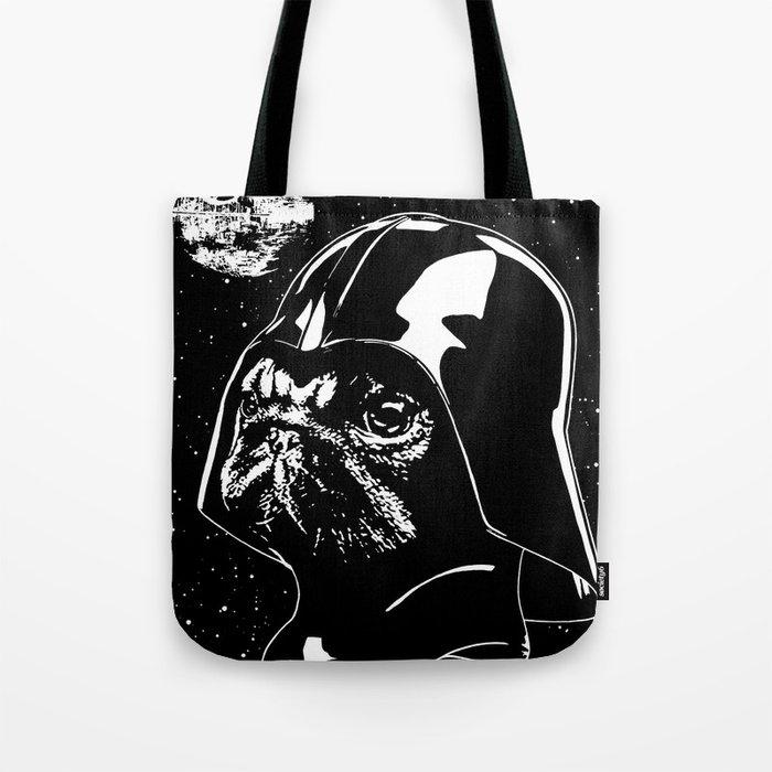 Pug Vader Tote Bag