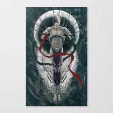 Binding moon Canvas Print