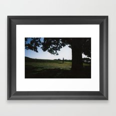 Too Long Framed Art Print