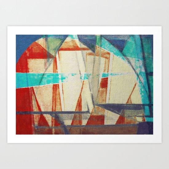 Stilt House 4 Art Print