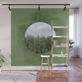 Leaves in the Trees, Trees in the Forest Wall Mural