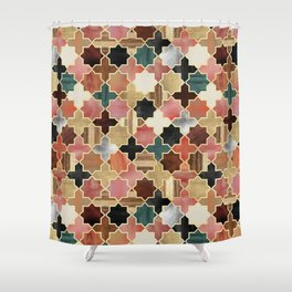 Twilight Moroccan Shower Curtain