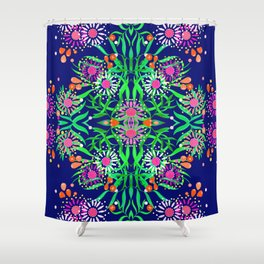 Abstract gumtree Shower Curtain