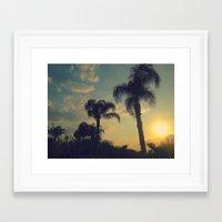 florida Framed Art Prints featuring Florida by Jillian Stanton
