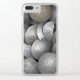 Sand Dollar Collage Clear iPhone Case