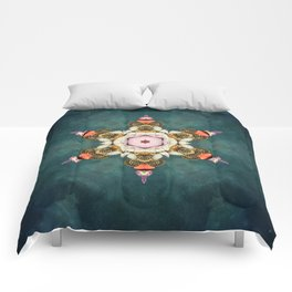 butterfly Medallion Comforters