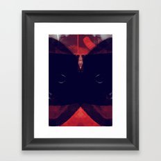 darque Framed Art Print