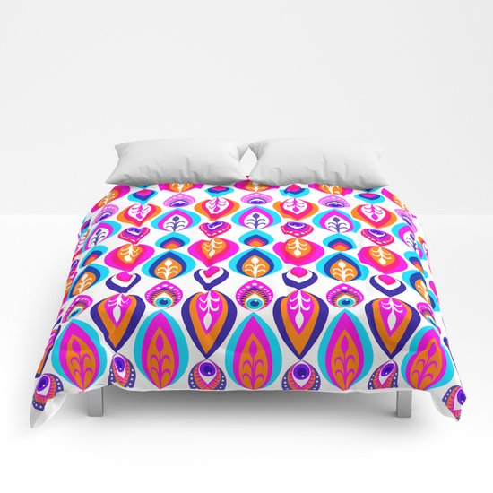 Pierrot II/Happy Memoir Pattern Comforters