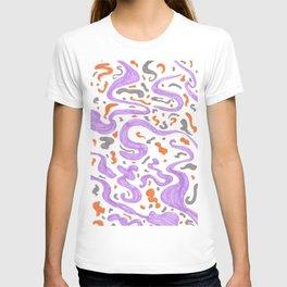 manchas a tres colores T-shirt