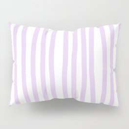 Lavender Stripes Pillow Sham