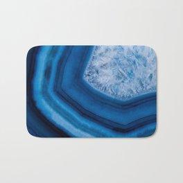 Blue Agate Geode Bath Mat