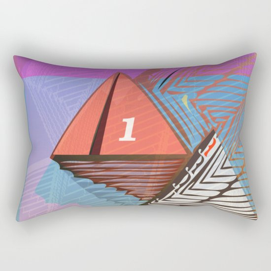 Photo Finish Rectangular Pillow
