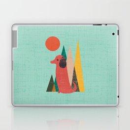 Waiting for You Dachshund Laptop & iPad Skin