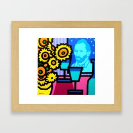 Still Life With Vincent Framed Art Print