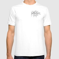 GET SHIT DONE SMALL White Mens Fitted Tee