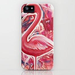 Flameingo iPhone Case