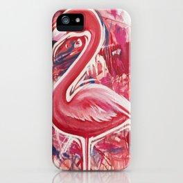 Flameingo iPhone Case