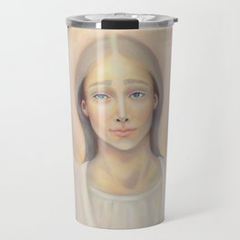 Archangel Anael, Angel of Love Travel Mug