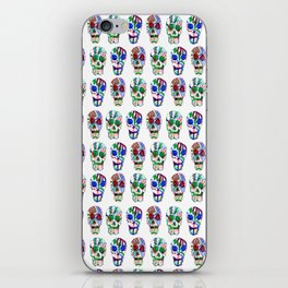 skull flag iPhone Skin