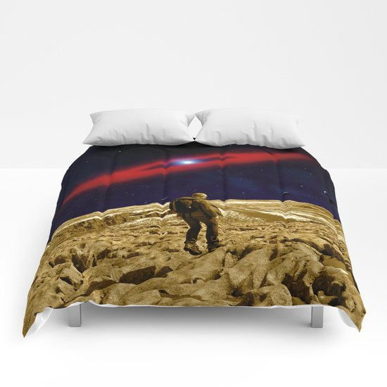 Stepping Comforters
