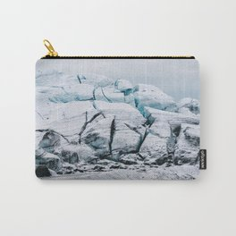 Glacial World of Iceland - Landscape Photography Carry-All Pouch
