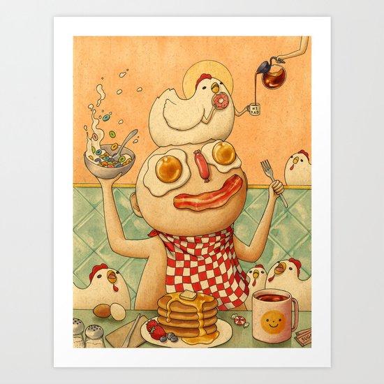 Breakfast by feliciachiao