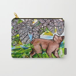 Luna Bear Carry-All Pouch