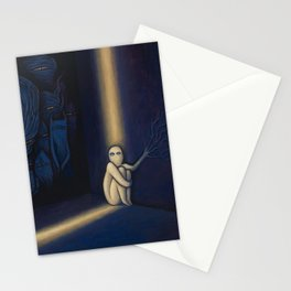 Dark Side Of Me Stationery Cards
