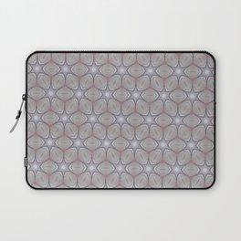 Metallic star grid Laptop Sleeve
