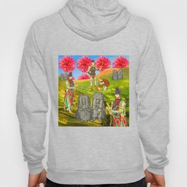 THE COLORFUL KNIGHT AND THE SEPIA BEGGARS Hoody