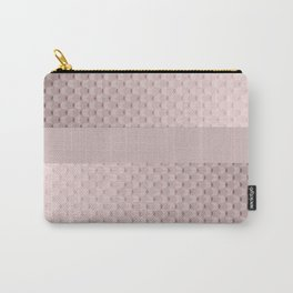 Pink mother of pearl Carry-All Pouch