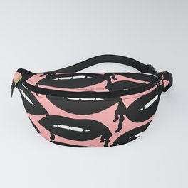 Bloody Lips in Pink Fanny Pack