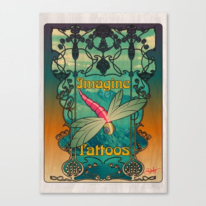 Art Nouveau Dragonfly Designs