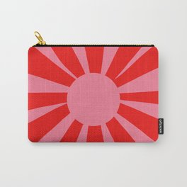 Pink Red Summer Sun Carry-All Pouch